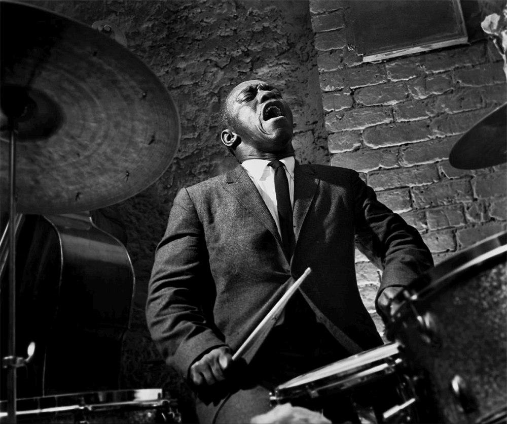 Art Blakey, 1958 (photo © Herman Leonard)