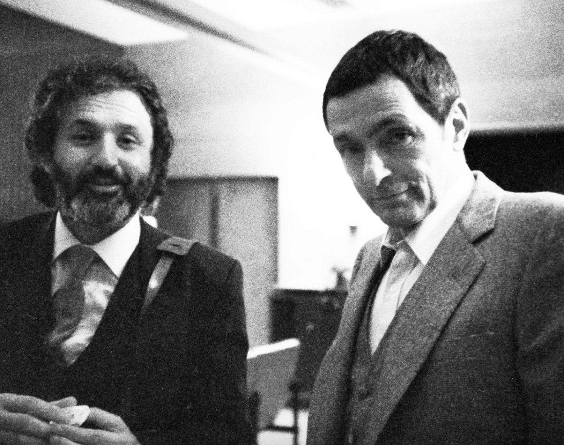 Милчо Левиев и Арт Пеппер, конец 1970-х