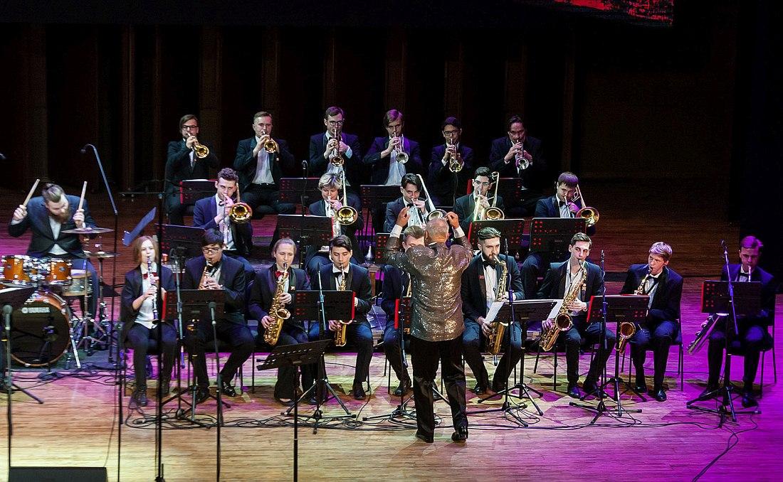 Оркестр Новосибирского государственного технического университета под управлением Юрия Миняйло