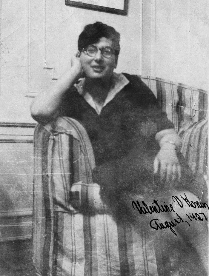 18-летняя Валентина Конен в 1927 г.