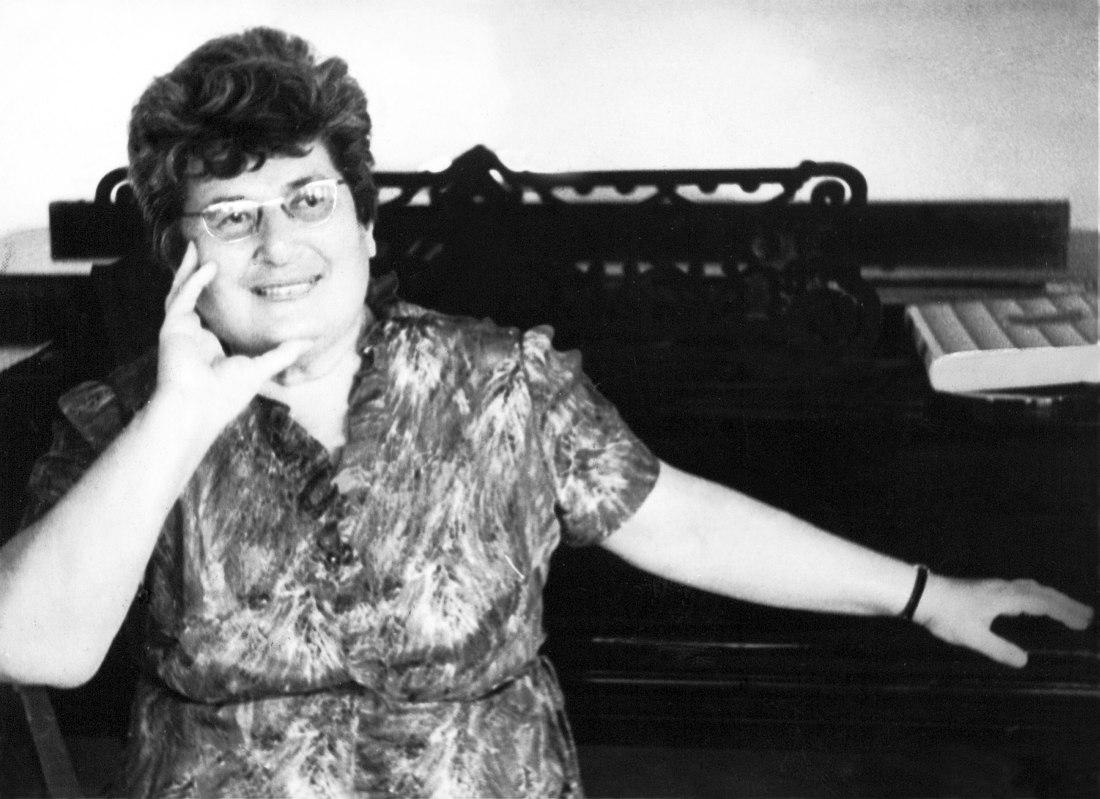 Валентина Конен. Москва, 1969