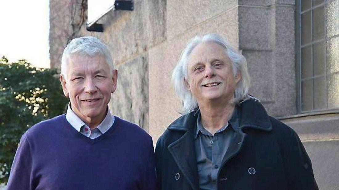Ян-Эрик Конгсхауг и Манфред Айхер, 2010-е гг. (фото © Deborah Feingold/ECM)
