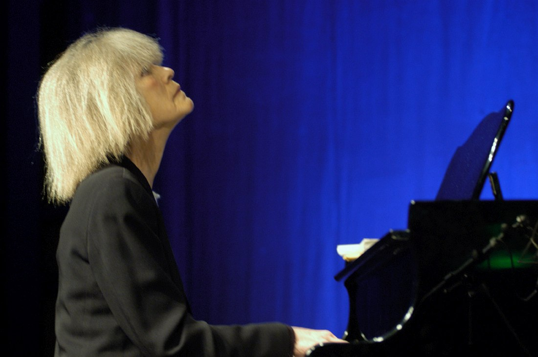 Carla Bley (photo © Klaus Muempher, 2003)