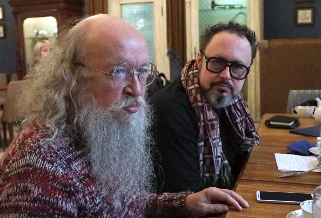 Сергей Летов, Дмитрий Мильков. Фото © Юрий Гурченков