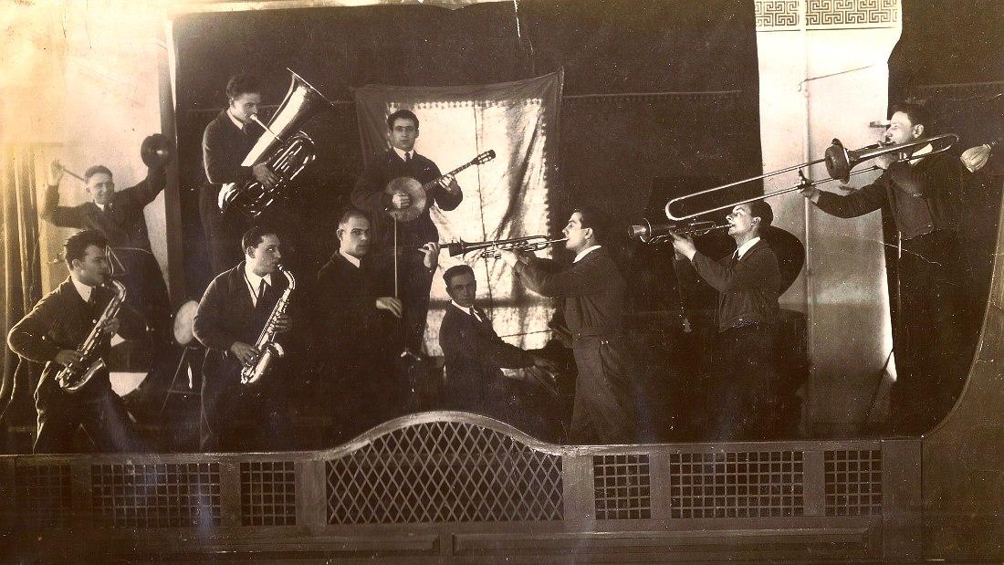 Джаз в ресторане «Гигант», 1930-е гг.