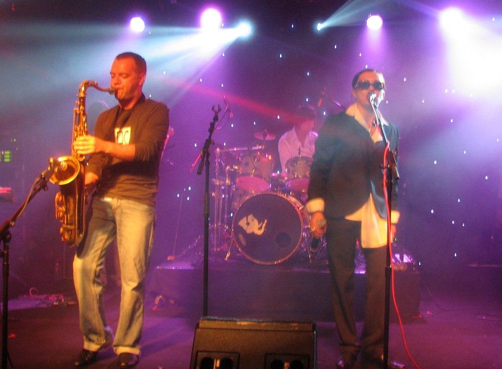 Doo Bop Sound (саксофонист Алексей Попов, барабанщик Пётр Михеев, вокалистка Лера Гехнер) на Montreux Jazz Festival, 2008