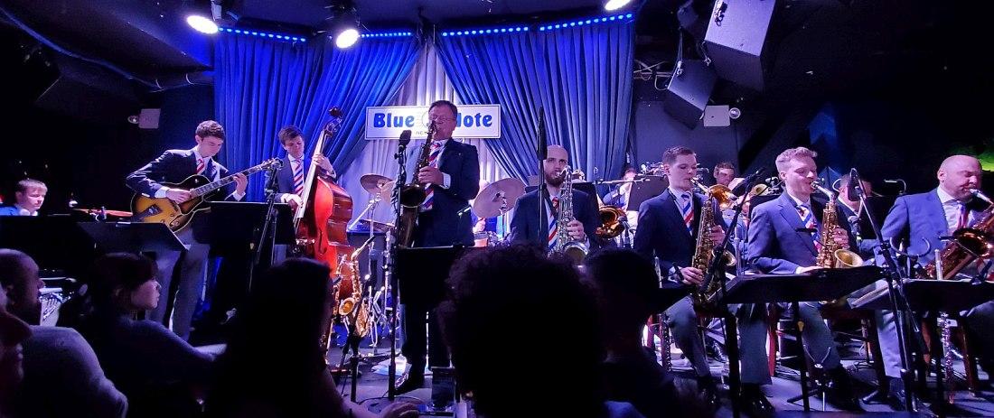 Московский джазовый оркестр п/у Игоря Бутмана в клубе Blue Note, Нью-Йорк, февраль 2020 (photo © Richard Michaels)