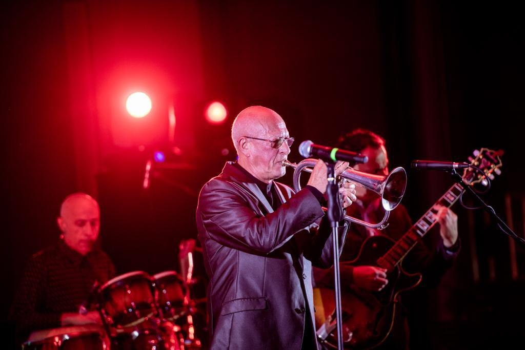 David Goloshchekin at the Limassol International Jazz and Pop Festival