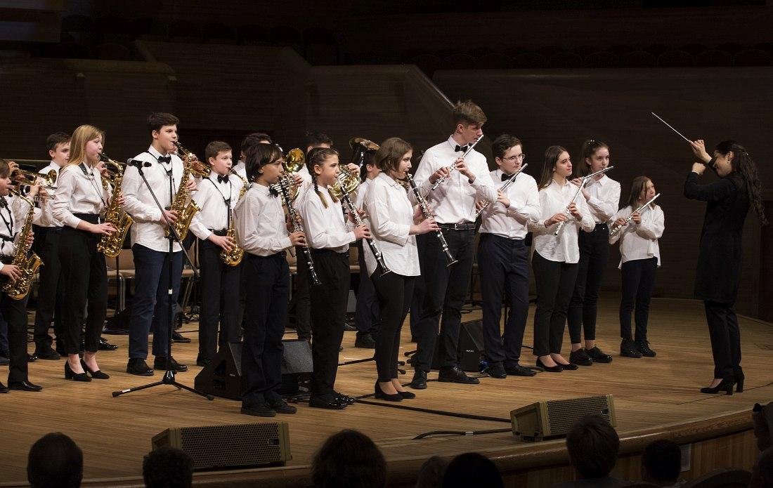 Детский духовой оркестр Академии джаза: I место, категория«Духовой оркестр»