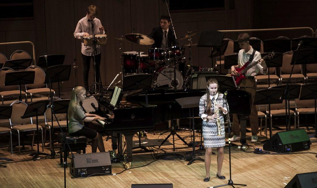 Вероника Зейдель, Академия джаза: I место в категории «Инструментальное исполнительство»