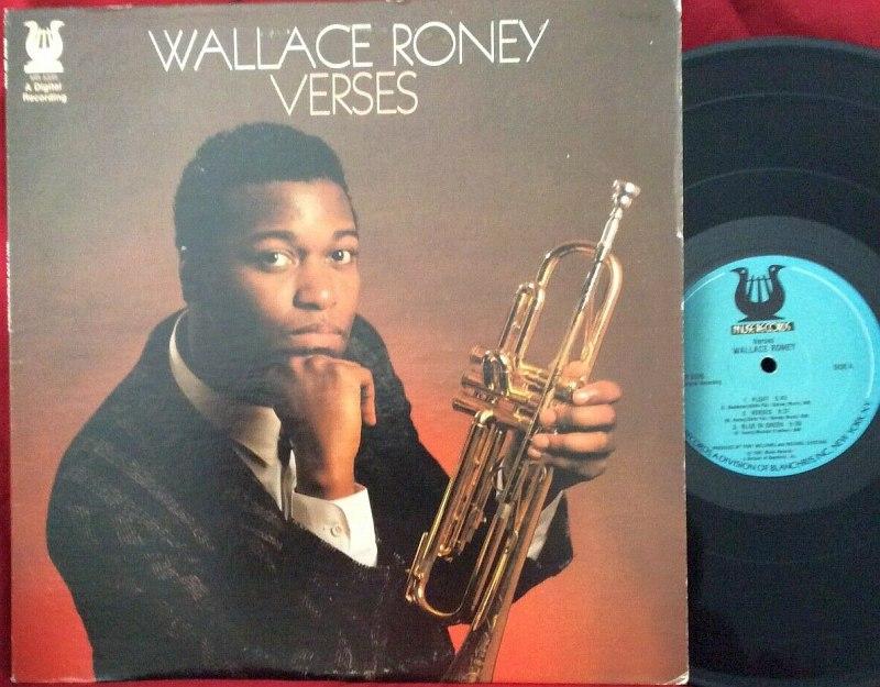 виниловое издание дебютного альбома Уолласа Рони, 1987
