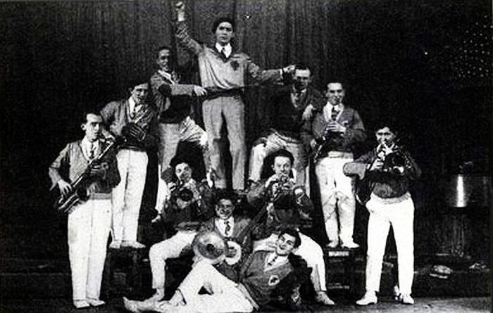 Первый состав «Теаджаза», 1929