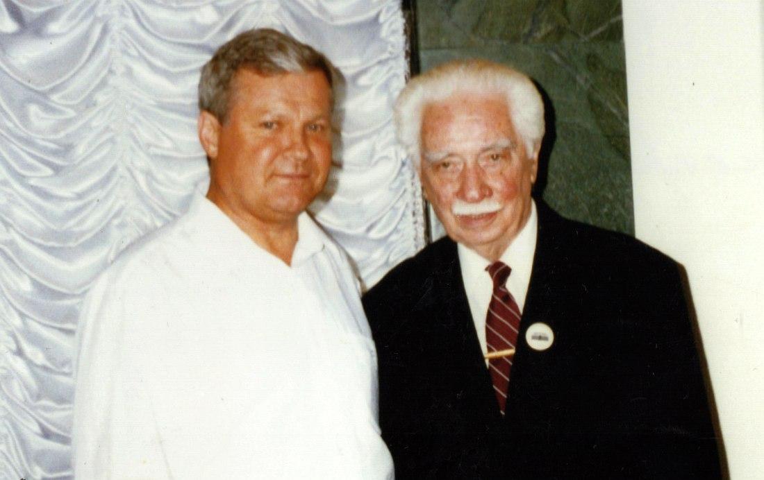 Анатолий Василевский и Олег Лундстрем, 1996