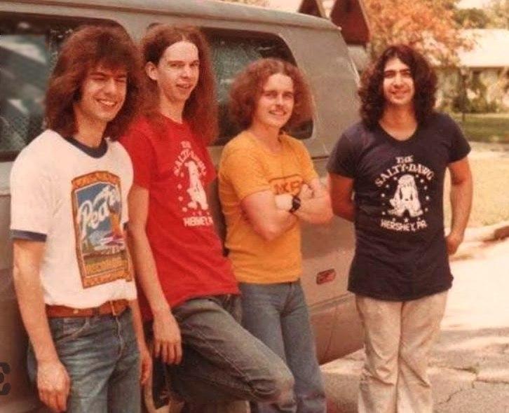 Pat Metheny Group, 1977: Pat Metheny, Lyle Mays, Mark Egan, Danny Gottlieb