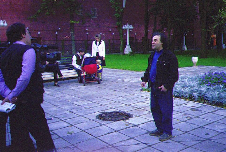 Август 1998, Сергей Манукян даёт интервью телеканалу «Культура»