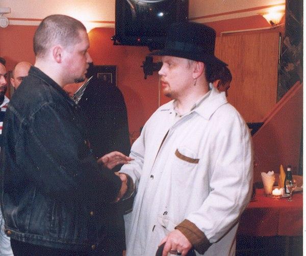 Кирилл Мошков (Константин Волков) и Олег Киреев, весна 1999
