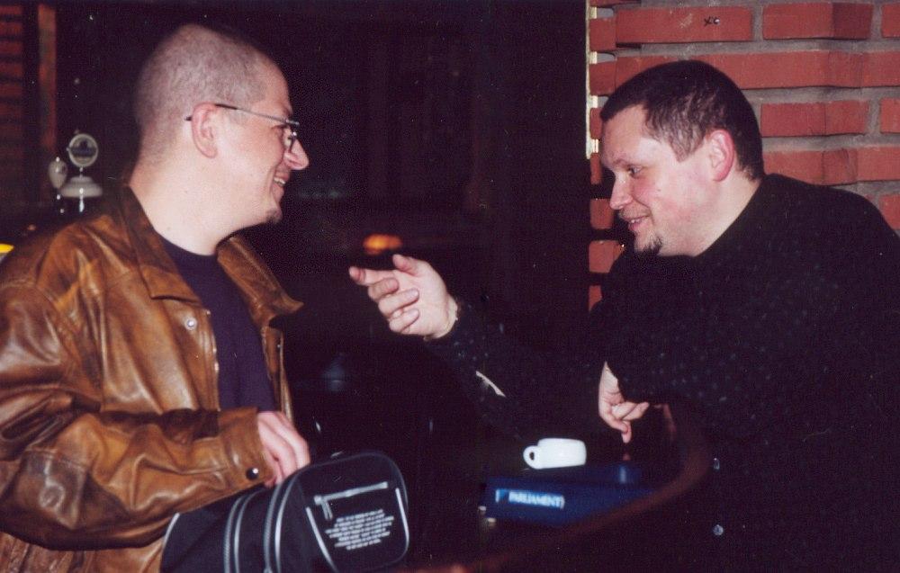 Андрей Соловьёв и Кирилл Мошков, 2000 (фото © Павел Корбут)
