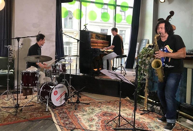 «Хот культур в городе»: квартет пианиста Евгения Пономарёва