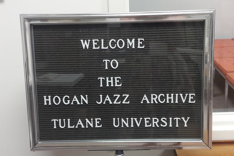Hogan Jazz Archive