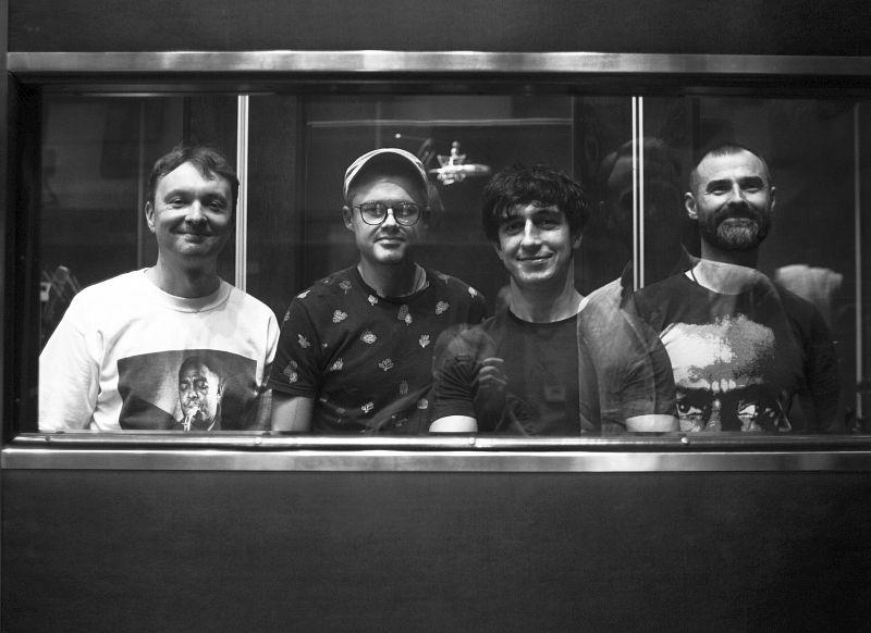 Участники записи: Алексей Круглов, Артём Третьяков, Роман Плотников, Павел Тимофеев (фото © Alex Yoku)