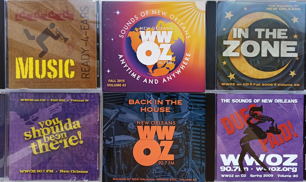 Коллекции записей радио WWOZ