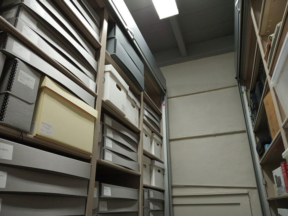 Хранилище фондов Архива NOJ&HF