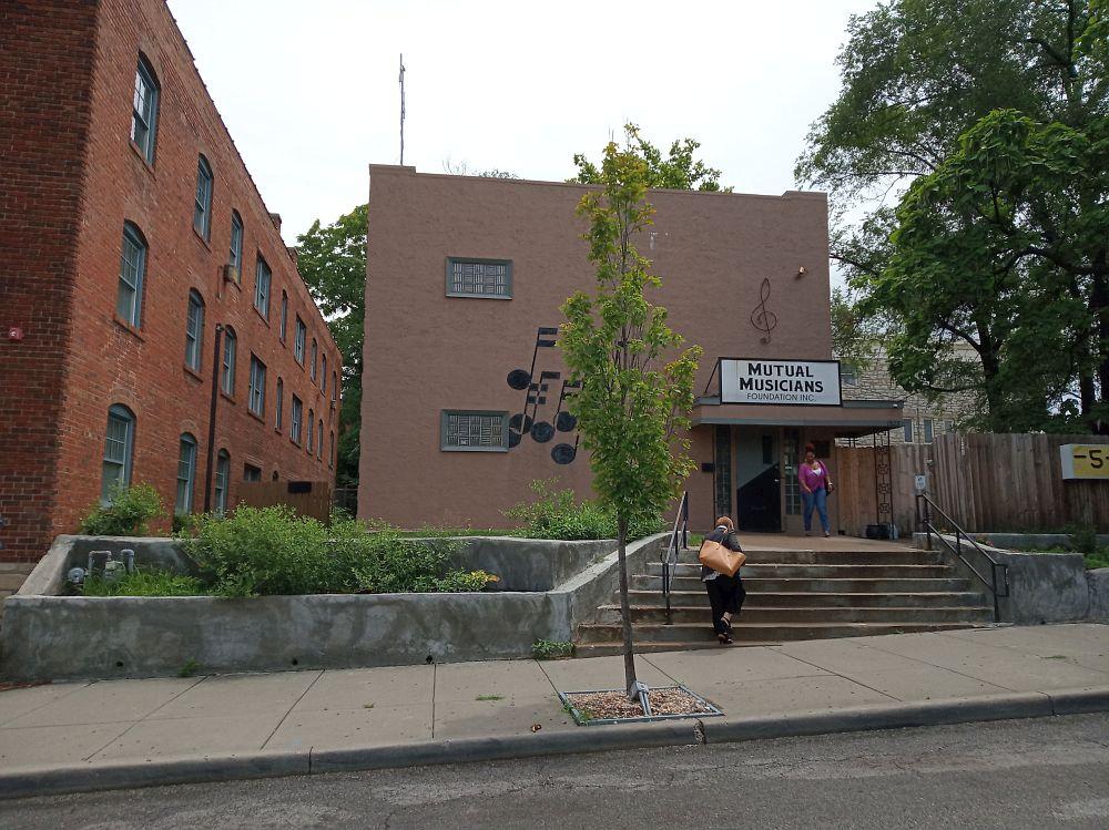 Здание профсоюза музыкантов в Канзас-Сити, где юный Паркер регулярно играл на джемах в 1930-е и начале 40-х