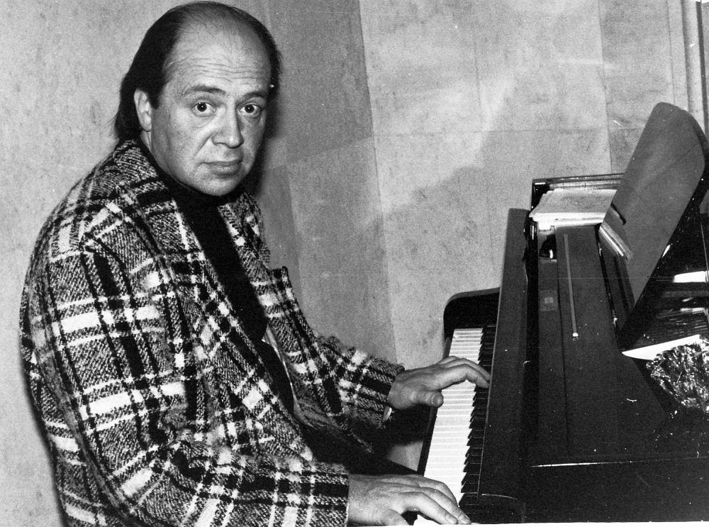 Пианист Игорь Бриль, 1990-е (фото © Анисим Соркин)