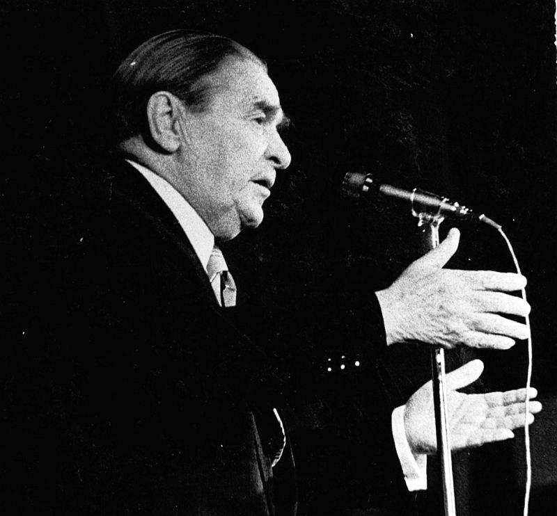 Леонид Утёсов (фото © Анисим Соркин, 1981)