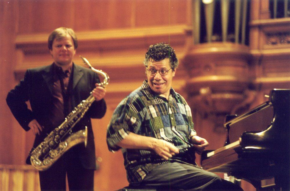 Игорь Бутман и Чик Кориа, Большой зал Московской консерватории, апрель 2001 (фото © Павел Корбут