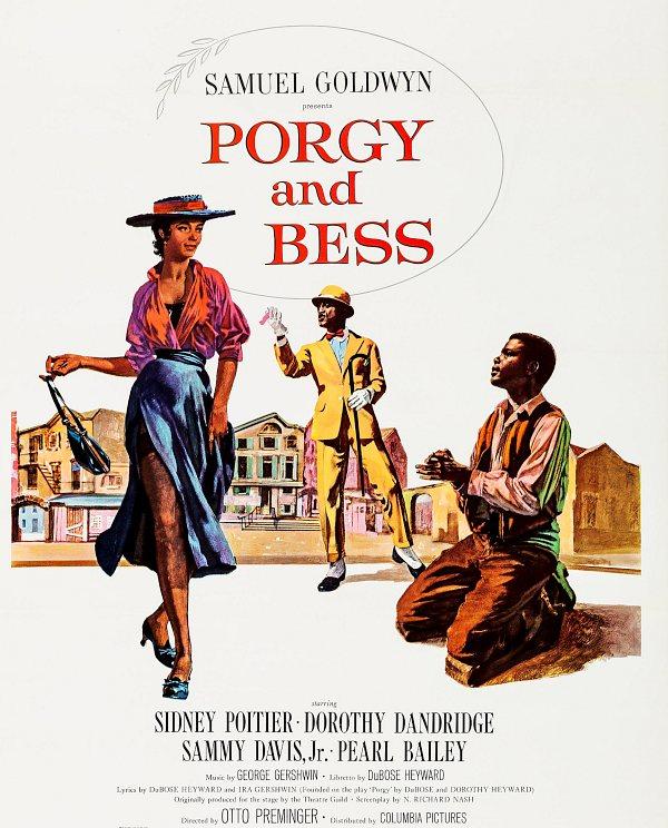 Афиша фильма «Porgy and Bess» 1959 г.