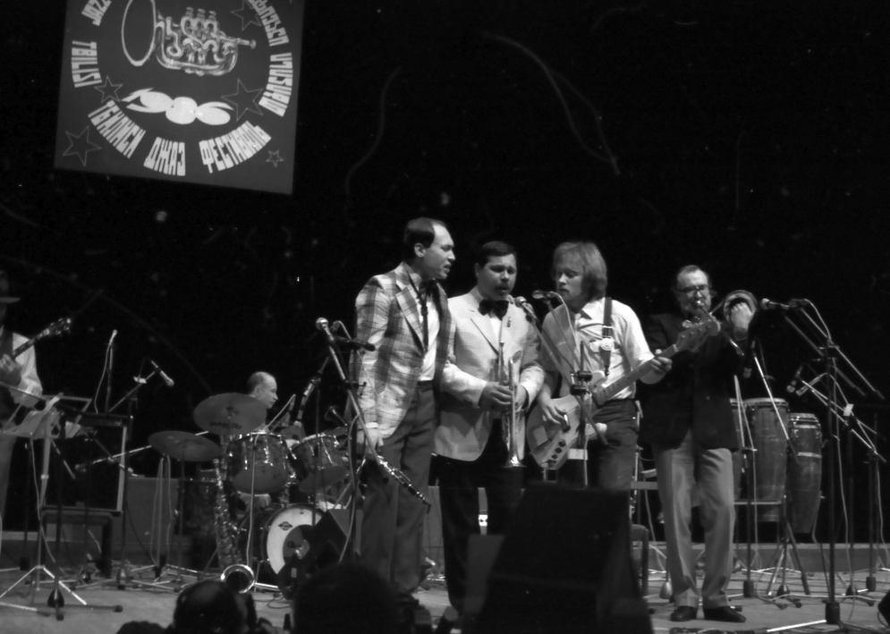 НМДБ на фестивале «Тбилиси-86». 1986