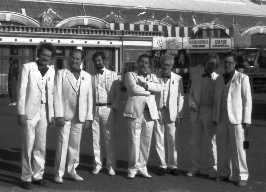 НМДБ на «Днях Москвы в Праге». 1989