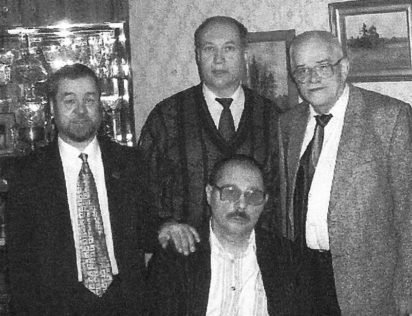 «Ветераны НМДБ» в день рождения А.Б. 2003