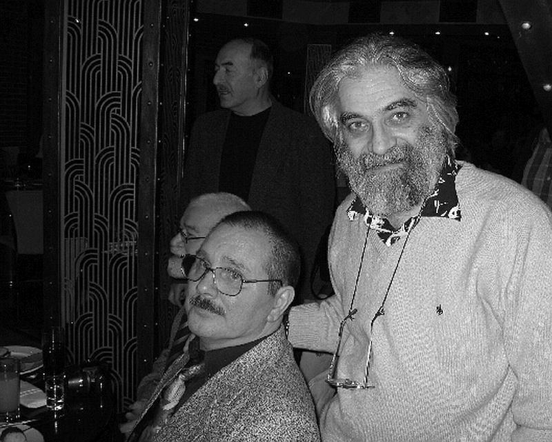 На праздновании 40-летия «Джазовой студии». А.Б. и Григорий Мальян. Фото © Александр Забрин, 2007