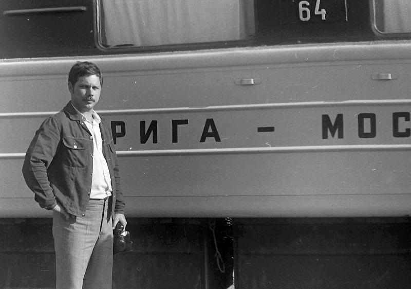 «Рига – Москва». 1976. Фото © Валерий Кацнельсон
