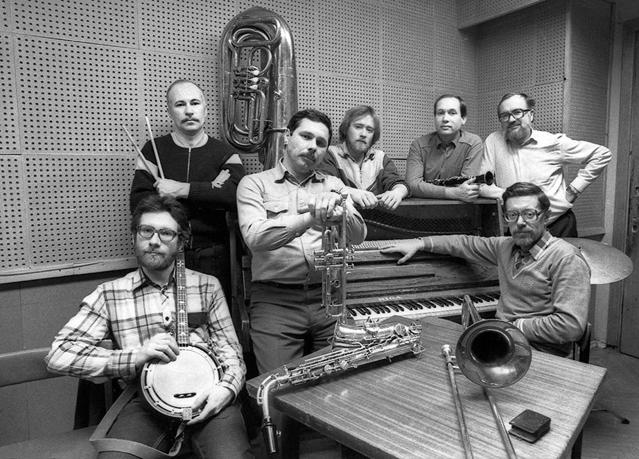 «Новый Московский джаз-бэнд», первый состав. 1986. Фото © Александр Забрин