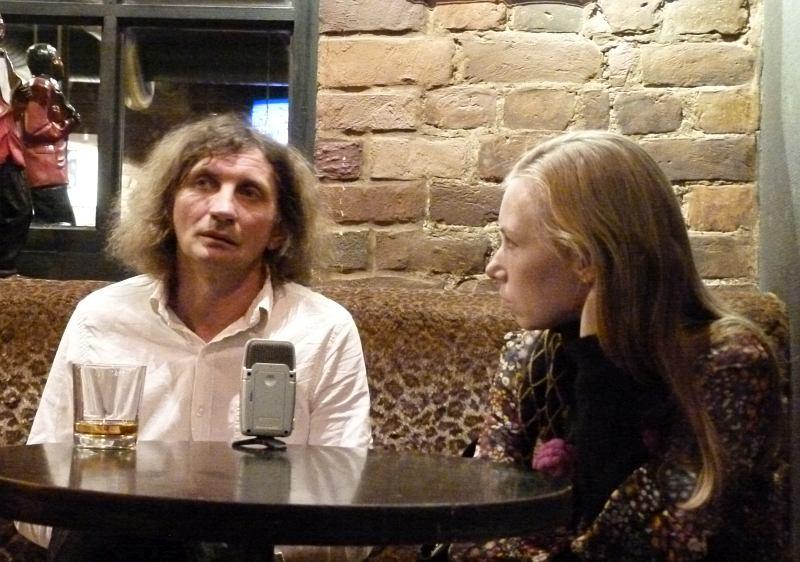 Интервью в клубе JFC, 2011: Владимир Волков и Анна Филипьева