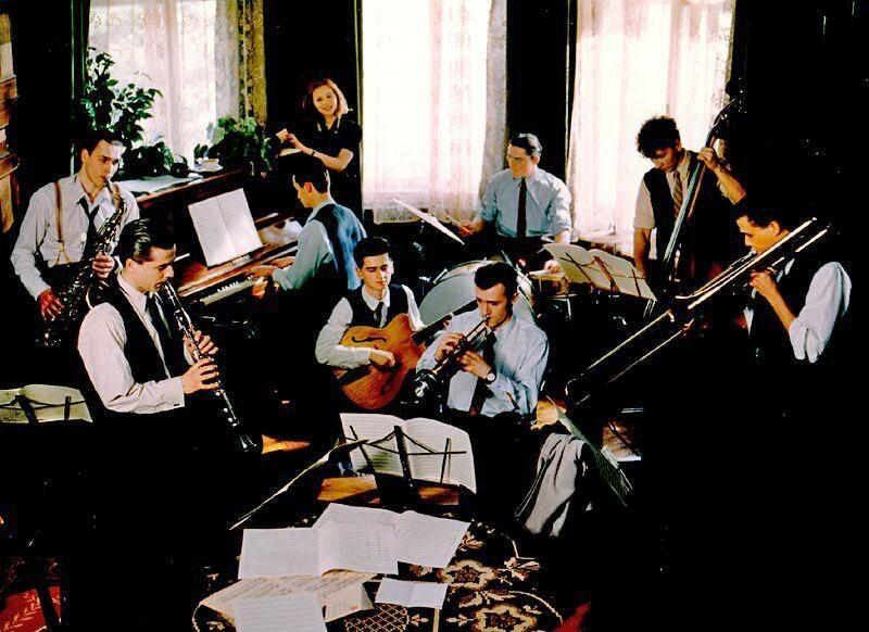Кадр из фильма «Eine kleine Jazzmusik» (1996)