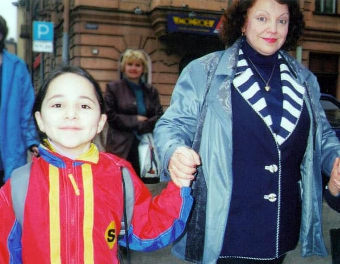 Алина Енгибарян и Тамара Иванова, начало 2000-х (фото из архива Алины Енгибарян)