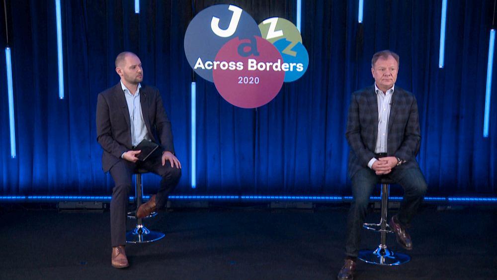 Роман Христюк и Игорь Бутман открывают онлайн-версию форума, 13 ноября 2020