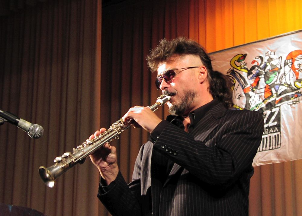 Майк Эллис на фестивале «Джаз-карнавал в Одессе», сентябрь 2002