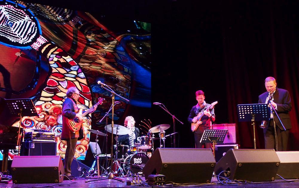 Премьерный показ материала альбома на Международных Днях джаза в Архангельске, октябрь 2020 (фото © Наталья Кравченко, «Джаз.Ру»)