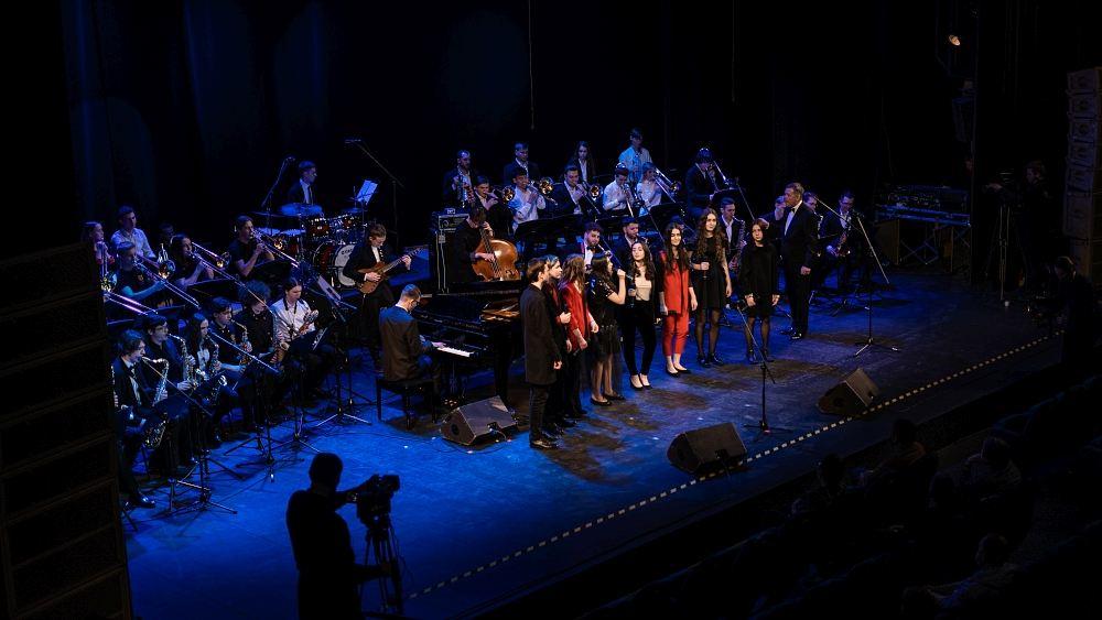 Сводный оркестр участников Гала-концерта
