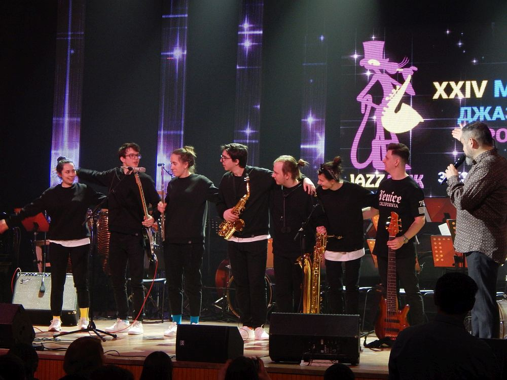 Seven Note Collective и ведущий фестивальных концертов Кирилл Мошков