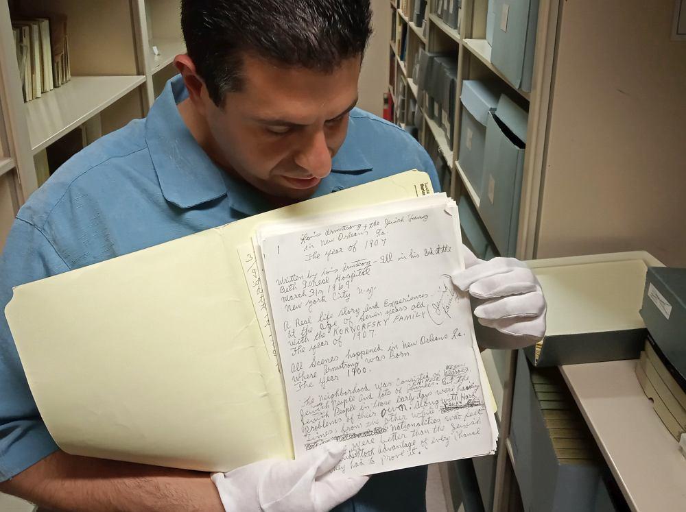 ...фрагмент рукописи мемуаров Сатчмо...