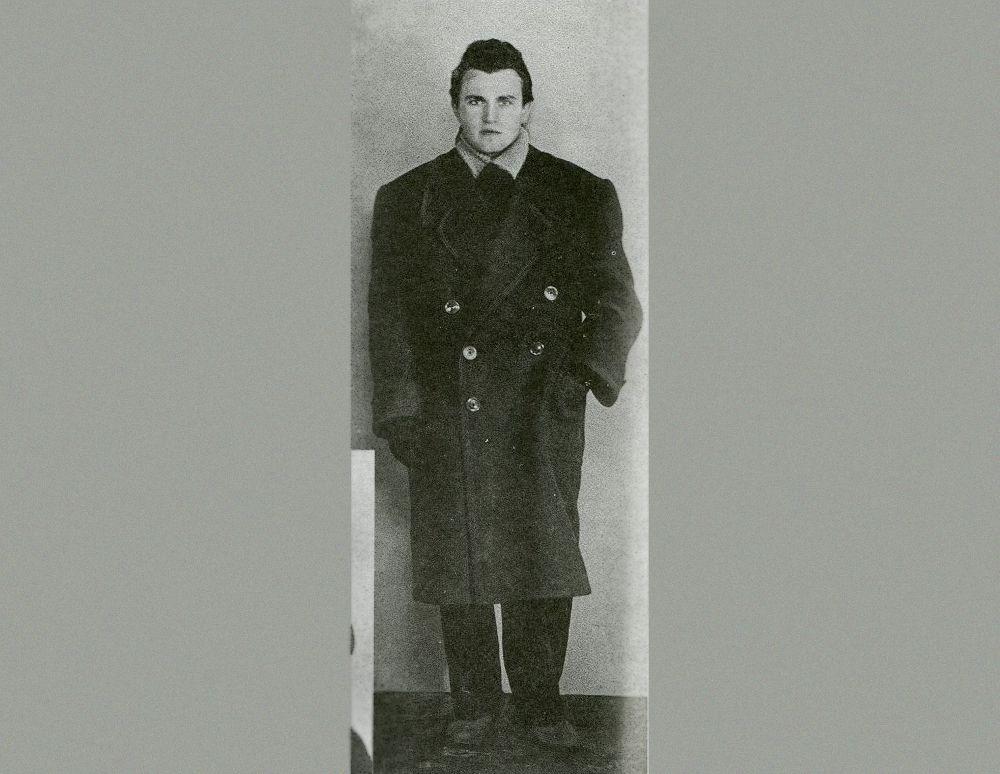 «Питерский молодой человек с «канадской» прической» (В. Аксёнов), 1956 год