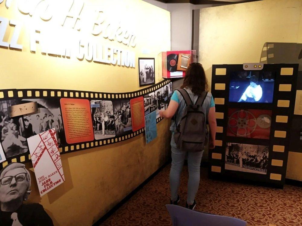 В Музее американского джаза