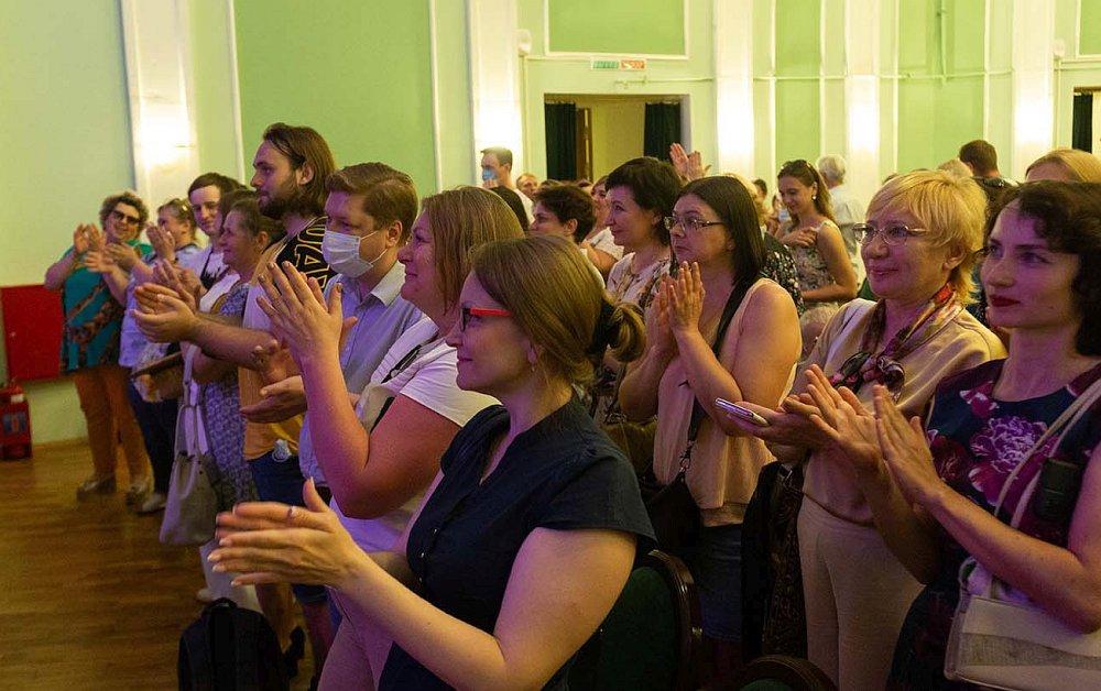 Слушатели в КЗ  «Свиридовский» (фото © Александр Малахов)