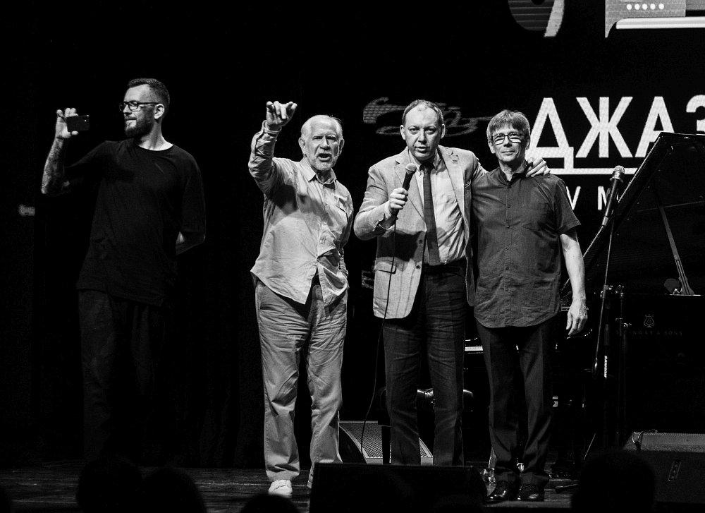 Александр Зингер, Леонид Винцкевич, Яков Окунь, Евгений Онищенко (фото автора)
